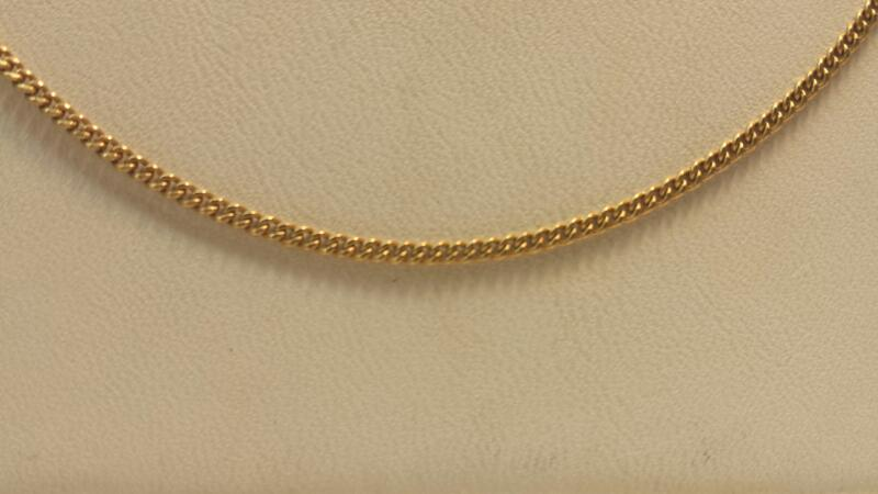 "10k Yellow Gold Chain 18"" 2.1dwt"