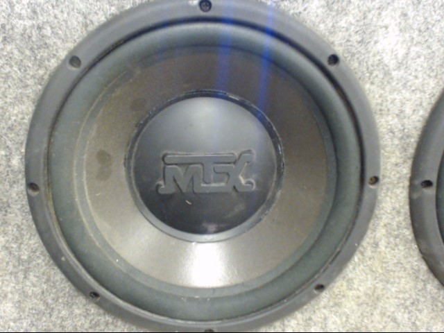 MTX AUDIO Car Speakers/Speaker System THUNDER 5000