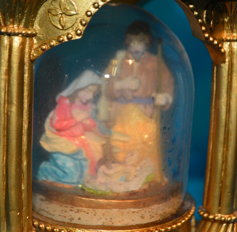 JCPenney Home Collection Musical Nativity Double Snow Globe