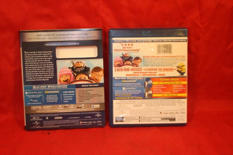 Despicable Me (Blu-ray/DVD, 2010, 3-Disc Set)