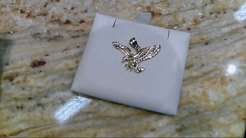Gold Eagle Pendant 10K Yellow Gold 1.8g