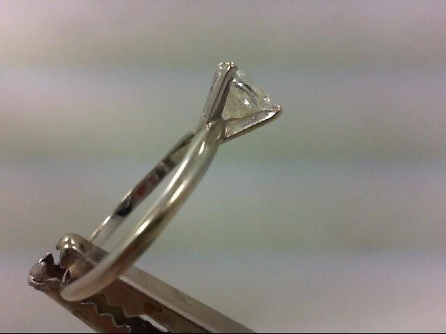 Lady's Diamond Engagement Ring 1.00 CT. 14K White Gold 1.91g