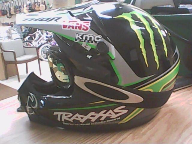 Thor Quadrant 2 Pro Circuit Monster Energy/Traxxas Helmet Size L