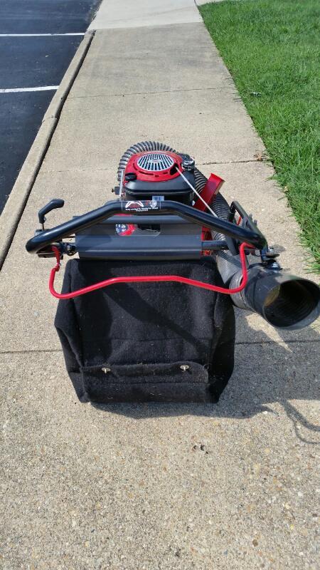 """Craftsman - 4-in-1 Chipper/Shredder 24"""" Yard Vacuum - 190CC"""
