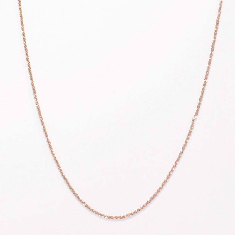 """20"""" 14K Rose Gold Fashion Chain 2.88g"""