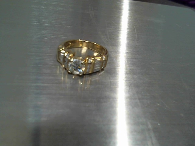 Lady's Diamond Solitaire Ring .75 CT. 14K Yellow Gold 5.7g