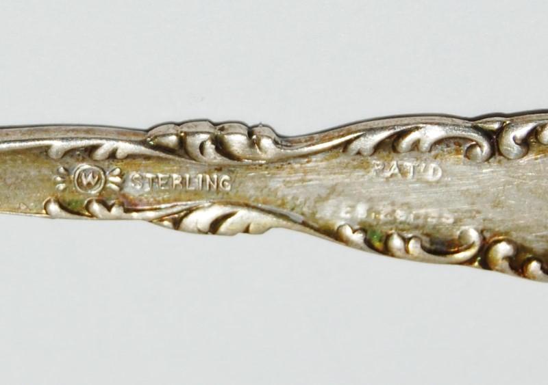 "4"" SILVER SPOON 925 Silver 32.2g"