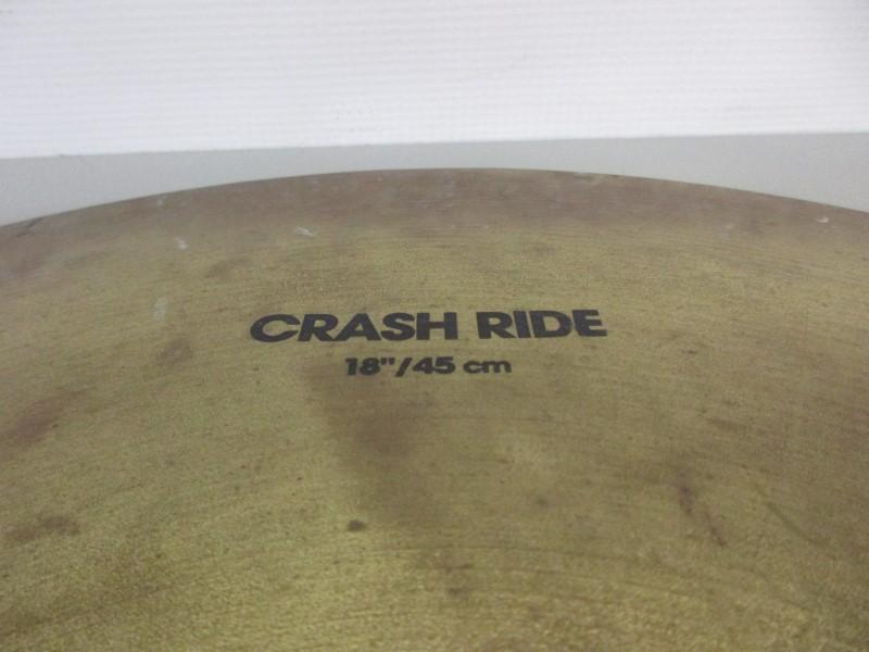 """PLANET Z 18"""" CRASH RIDE CYMBAL"""
