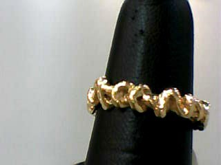 Lady's Gold Wedding Band 14K Yellow Gold 2.4dwt Size:6