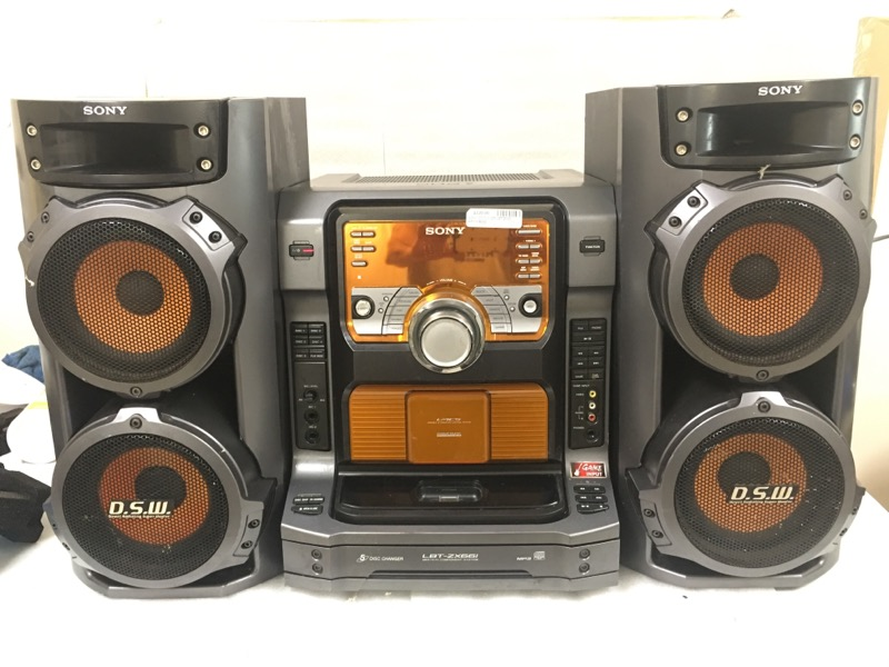 SONY CD Player & Recorder LBT-ZX66I