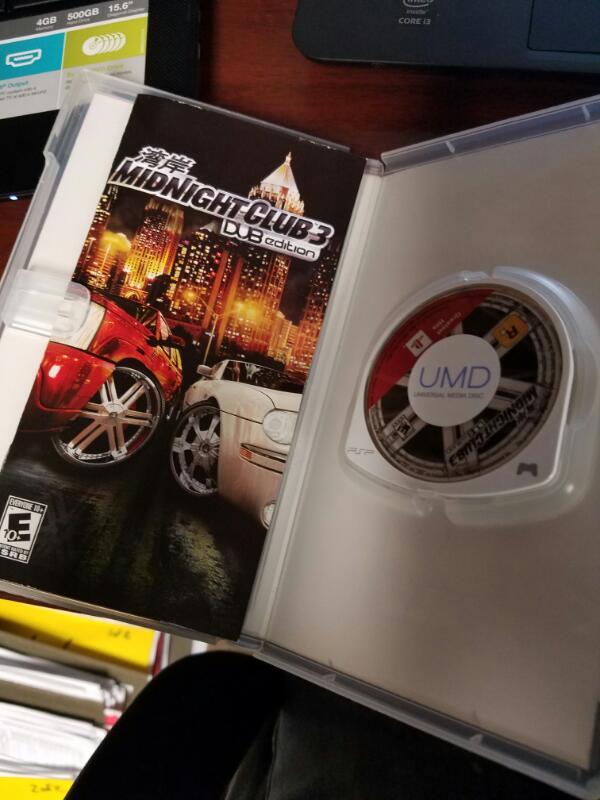 Midnight club Dub edition- PSP GAMES