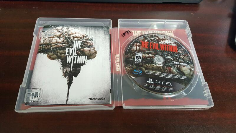 The Evil Within (Sony PlayStation 3, 2014) PS3
