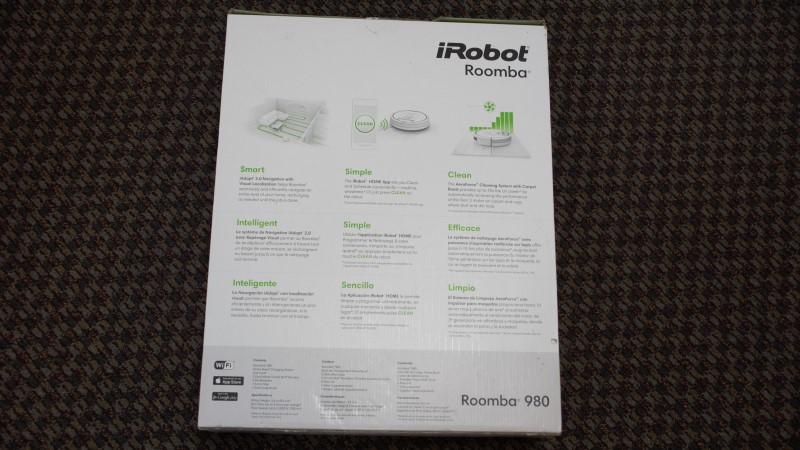 IROBOT ROOMBA 980 WITH BOX