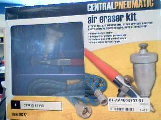 CENTRAL PNEUMATIC Air Brush 69277
