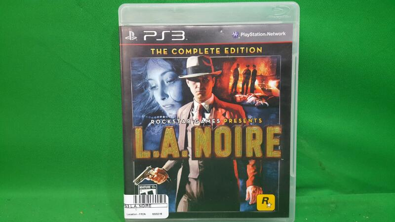 ROCKSTAR Sony PlayStation 3 Game L.A. NOIRE