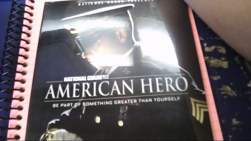 AMERICAN HERO DVD