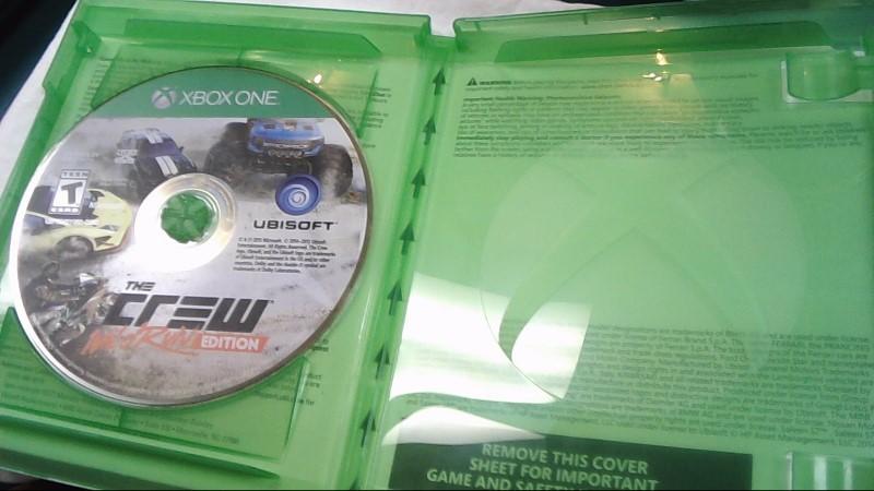 Microsoft XBOX One Game THE CREW WILD RUN EDITION