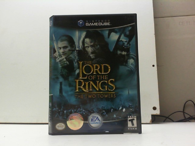 NINTENDO Nintendo GameCube Game LORD OF THE RINGS THE TWO TOWERS (GAMECUBE)
