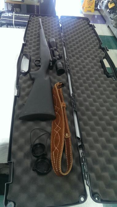 REMINGTON FIREARMS & AMMUNITION Rifle MODEL SEVEN 7MM-08