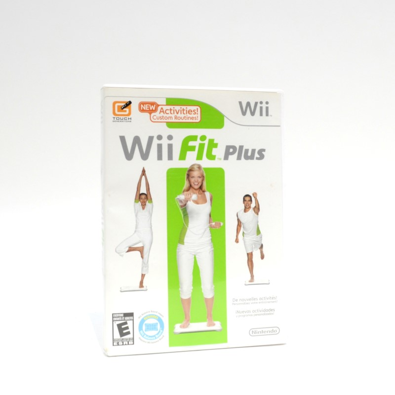 Nintendo Wii Fit Plus RVL-021 Wii Game & Balance Board in Orig Box>