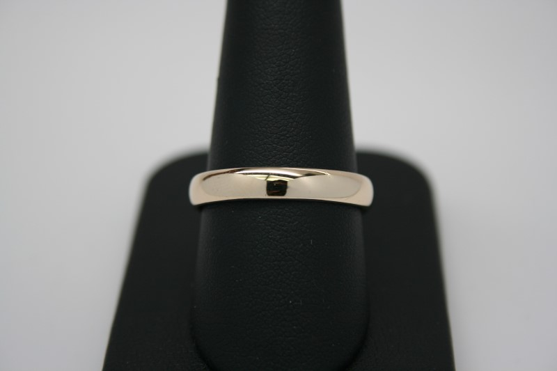 GENT'S WEDDING BAND 14K YELLOW GOLD 9