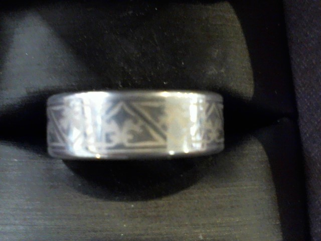 Gent's Ring Black Tungsten 16.8g