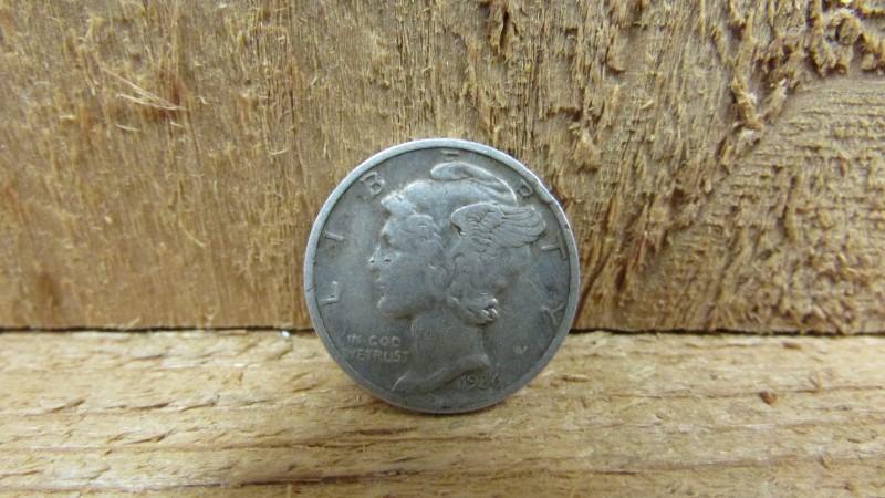 UNITED STATES Silver Coin 1936 MERCURY DIME