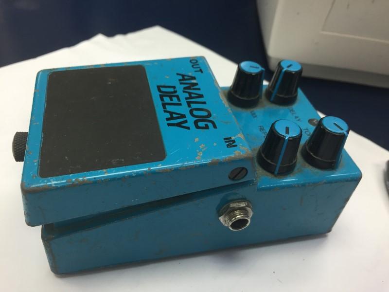 KMD KP-500 STEREO ANALOG DELAY ECHO RARE VINTAGE GUITAR EFFECT PEDAL MIJ JAPAN