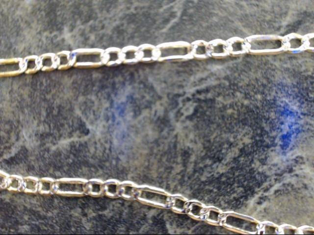 Gold Figaro Chain 14K Yellow Gold 3.9g