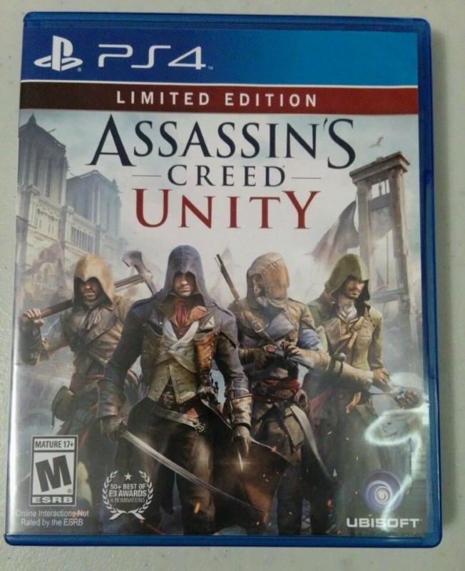 ASSASSIN'S CREED UNITY - PS4