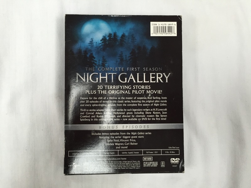NIGHT GALLERY-THE COMPLETE FIRST SEASON (2004)