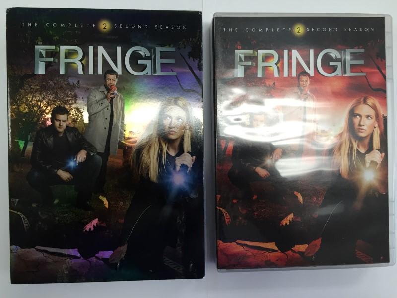 FRINGE THE COMPLETE SECOND (2) SEASON DVD