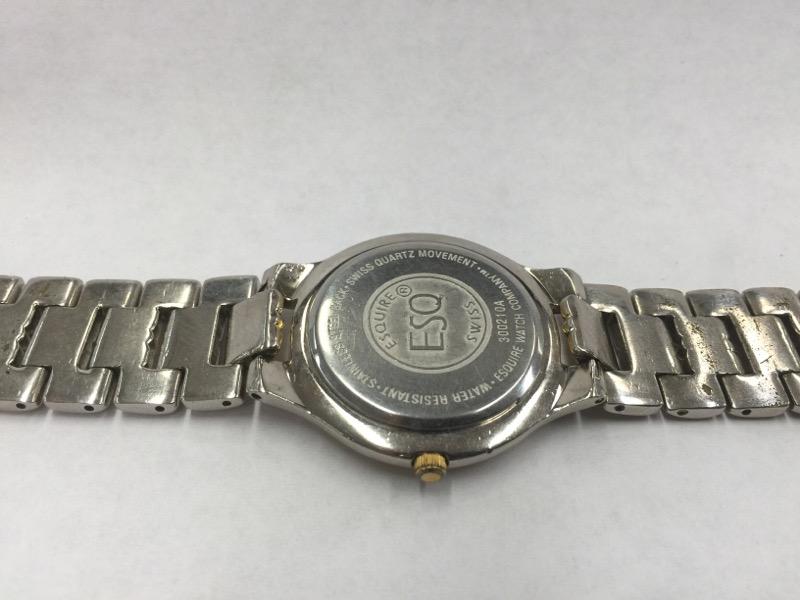 ESQUIRE Gent's Wristwatch ESQ SWISS WATCH