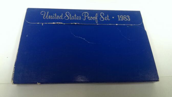 UNITED STATES 1983 PROOF SET
