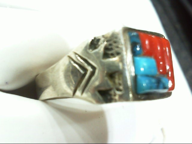 Gent's Silver Ring 925 Silver 10.3g