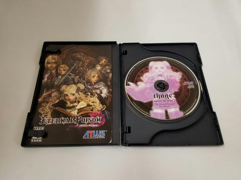 Sony PlayStation 2 Game ETERNAL POISON