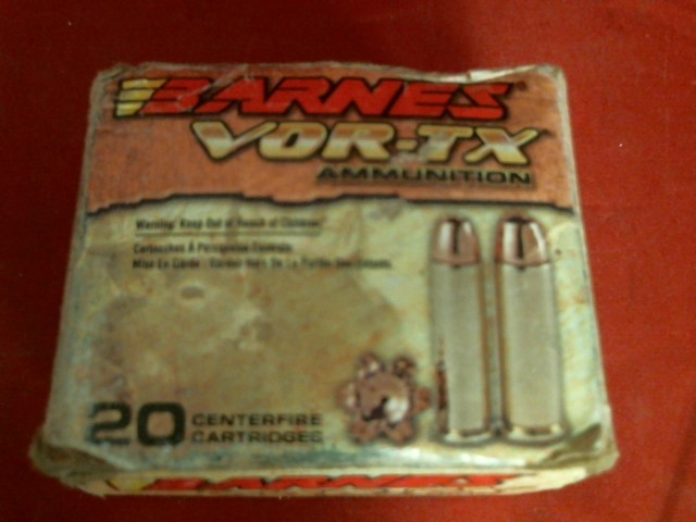 BARNES AMMO VOR-TX AM .357MAG