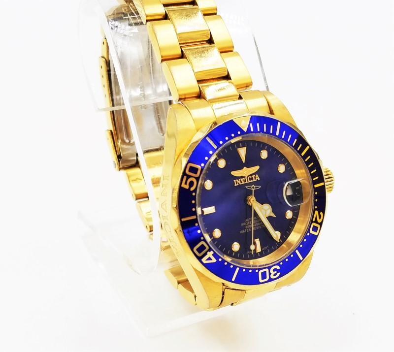 Invicta 21J Auto Professional Diver Skeleton Watch 8930A Black