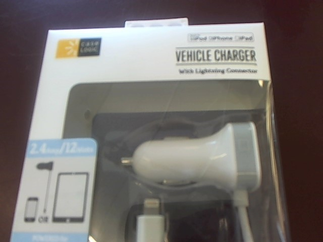 CASE LOGIC Battery/Charger SYNC & CHARGER LIGHTNING USB