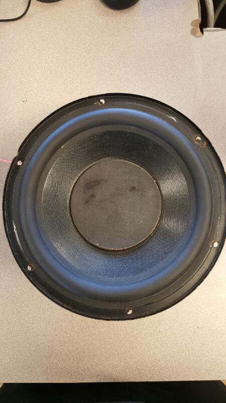 LG Car Speakers/Speaker System 150W 1OHM SPEAKER
