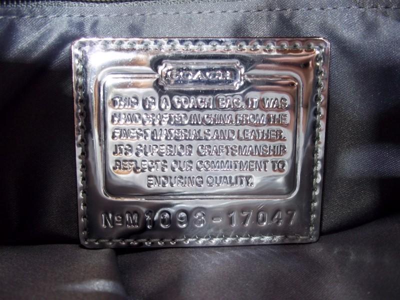 COACH POPPY LUREX HIPPIE CROSSBODY SHOULDER BAG 17047