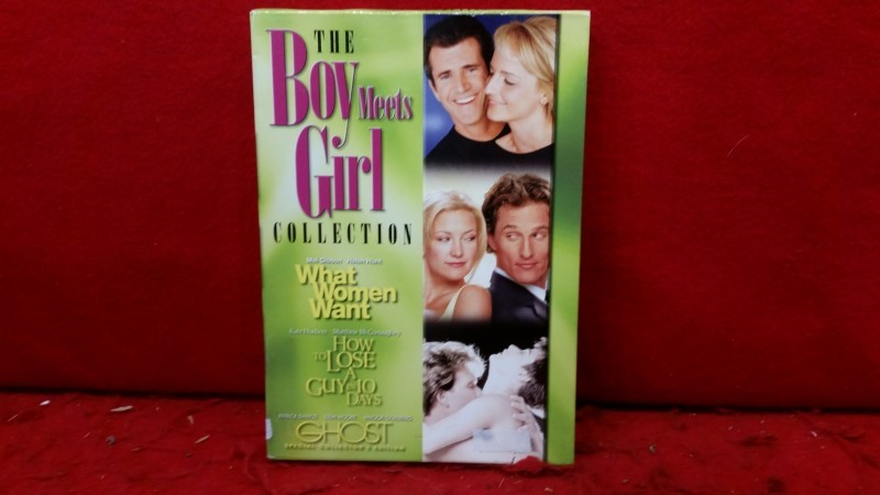 The Boy Meets Girl Collection (DVD) What Women Want, Ghost, How To Lose A Guy