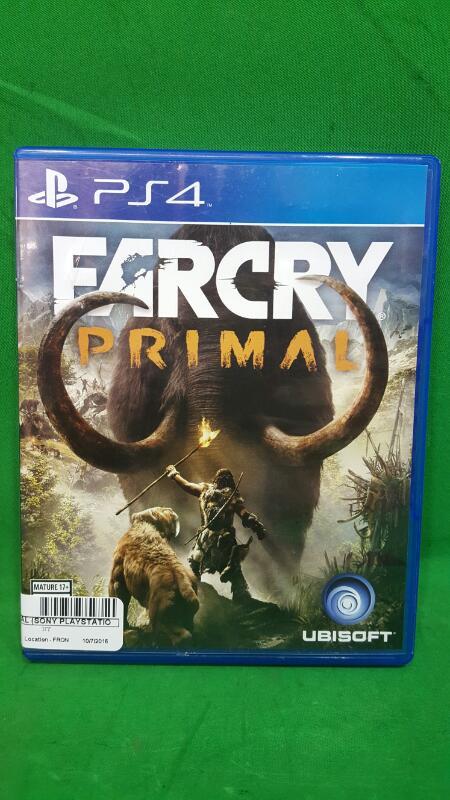 Far Cry: Primal (Sony PlayStation 4, 2016) PS4