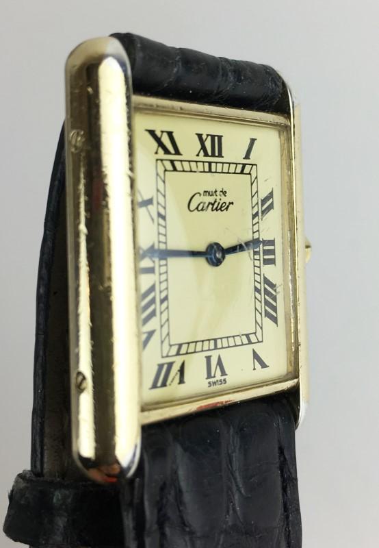 CARTIER Lady's VINTAGE TANK Watch