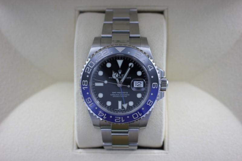 ROLEX Gent's Wristwatch 116710BLNR GMT-MASTER II