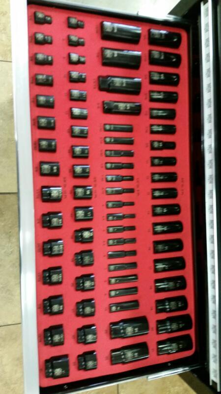 MAC TOOLS Tool Box with Tools JESSE JAMES 210 PC TOOL BOX SET