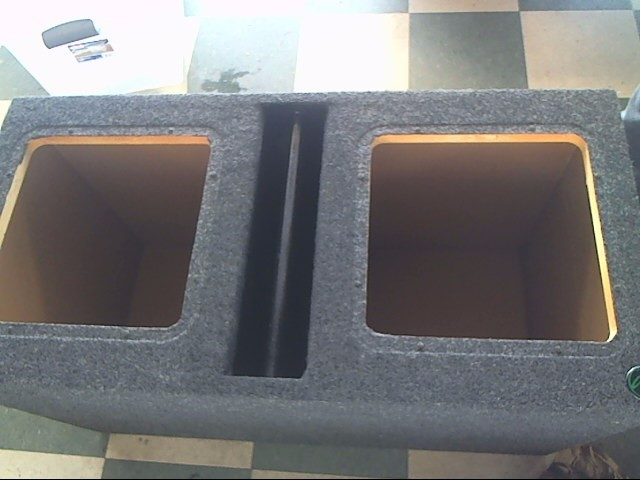 "Car Audio 12"" SUBWOOFER BOX"