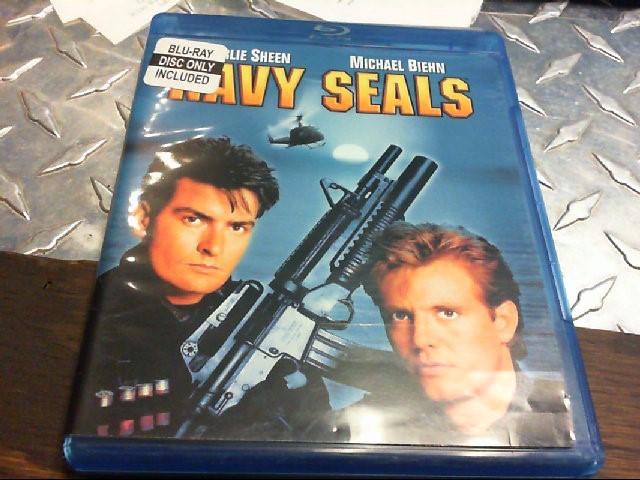 BLU-RAY MOVIE NAVY SEALS