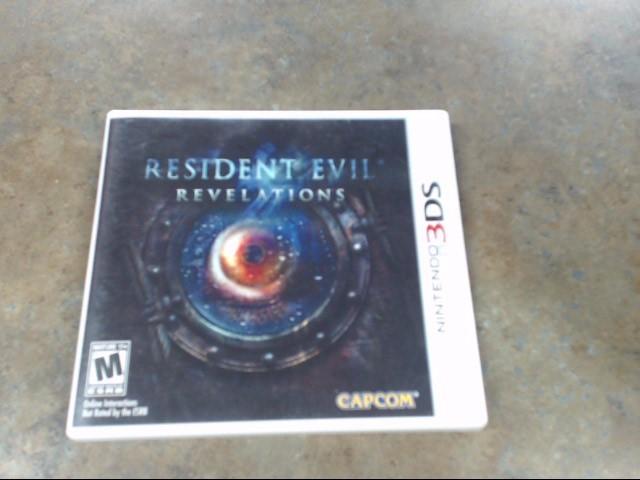 NINTENDO Nintendo 3DS Game RESIDENT EVIL REVELATIONS 3DS