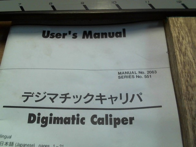 MITUTOYO Measuring Tool 552-311 CFC-P12